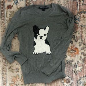 French Connection French Bulldog sweater